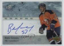 2007-08 Upper Deck Ice Glacial Graphs GG-BC Blake Comeau New York Islanders Auto
