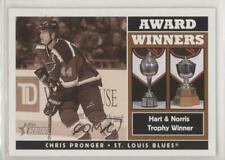 2000-01 Topps Heritage #246 Chris Pronger St. Louis Blues Hockey Card