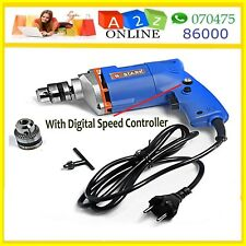 Latest Electric Drill Machine 10mm,300W With Speed Control+Free Bit Worth Rs.50