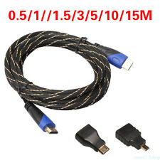 1080P HDMI Cable & HDMI to Mini & Micro Adaptor Kit For Android Tablet PC TV FG2