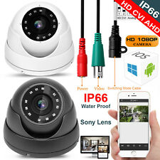 1080P 2.4MP SONY HD TVI AHD CVI ANALOGUE 4 IN 1 CCTV DOME CAMERA 3.6mm 20m IR UK