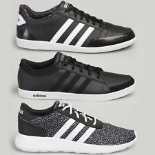Adidas Womens Mens Trainers Neo Running Sport Shoes Gym Sneakers Black/White