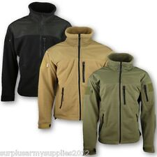 uomo Tactical DEFENDER pile S-3XL Giacca con zip verde basse temperature