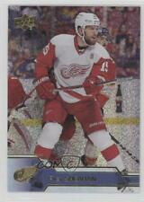 2016-17 Upper Deck Gold Rainbow Foil #316 Riley Sheahan Detroit Red Wings Card
