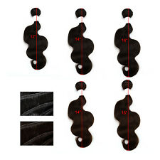 100% Virgin Remy Human Hair Brazilian Body Wave Lace Closure Weave Extensions
