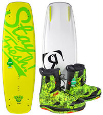 Ronix CONTO ATR S 135 2016 incl. FRANK Stivali Forest PINO Wakeboard Set incl.