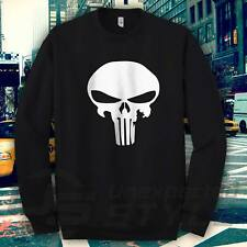 Punisher Skull Felpa FUMETTO MARVEL BODYBUILDING WORKOUT CROSSFIT PALESTRA
