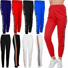 Womens Ladies BeJealous Sports Bottoms Joggers Casual Cuffed Hem Gym Trousers