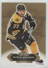 2016-17 Upper Deck Fleer Showcase #17 Patrice Bergeron Boston Bruins Hockey Card