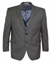 SCOTT Mens Tailored Fit Grey Suit Jacket