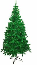 New Green Premium Traditional Indoor Artificial Christmas Xmas Tree 4,5,6,7,8FT