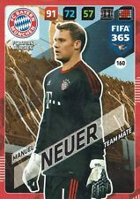 Panini FIFA 365 Adrenalyn XL 2018 Card MANUEL NEUER FC Bayern Munich no. 160