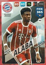 PANINI FIFA 365 ADRENALYN XL 2018 CARTAS DAVID ALABA FC Bayern Munich N º 162
