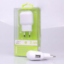 Cargador de Pared USB 2.1A/1A Para iPhone/Samsung/Android/iPad/Huawei/Universal