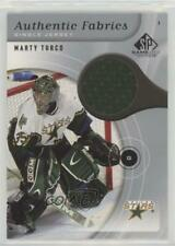 2005 SP Game Used Edition Authentic Fabrics #AF-MT Marty Turco Dallas Stars Card