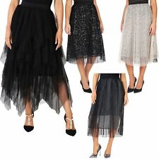 Layer Tulle Vintage Skirt Tiered Tutu Petticoat Ball Gown Party Dress Rockabilly