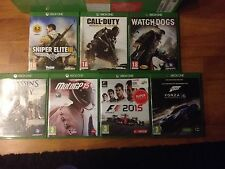 Xbox One juegos - Forza MS 6 - Sniper Elite III - F12015 - MotoGp15 - Watch Dogs