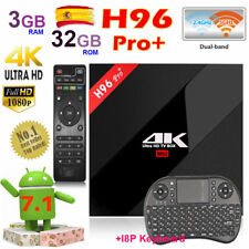 H96 Pro+ 3/32GB Amlogic S912 OctaCore Android 7.1 TV Box WiFi 4K 2.4G/5.8G Wifi