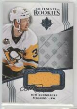 2016-17 Collection Silver Jersey Memorabilia #142 Ultimate Rookies Tom Kuhnhackl