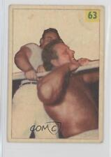 1955 1955-56 Parkhurst Wrestling #63 Mike Sharpe Card