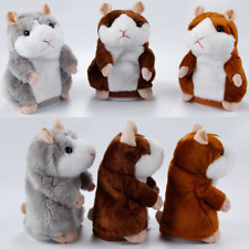 Record Talking Hamster Electronic Plush Toy Mouse Pet Sound Soft Christmast Gift