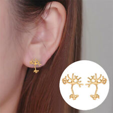 UK NEURON BRAIN CELL STUD EARRINGS Jewellery Gift Idea Science Biology Molecule