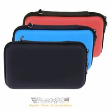 Nintendo 2DS XL EVA Hard Protective Travel Case Cover with Zip & Strap