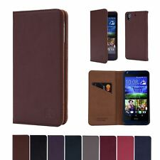 32nd Classic Series - Real Leather Book Wallet Case Cover For HTC Desire 626