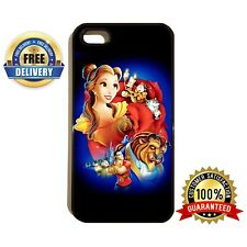 BEAUTY AND THE BEAST BEA016 DISNEY PRINCESS PHONE CASE COVER FOR iPhone SAMSUNG