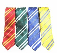 Harry Potter Cosplay Tie Gryffindor Slytherin Hufflepuff Ravenclaw