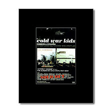 COLD WAR KIDS - Robbers and Cowards Mini Poster