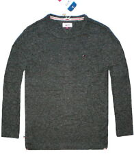 Tommy Hilfiger Homme à manches longues CLASSIC TEE-SHIRT SLIM MOULANT PULL NEUF