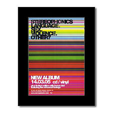 STEREOPHONICS - Language, Sex, Violence Mini Poster