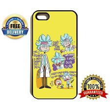 RICK AND MORTY RAM005 CARTOON CHARACTERS SCIENCE PHONE CASE COVER iPhone SAMSUNG