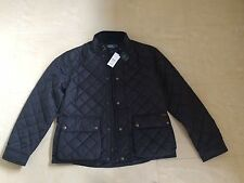 RALPH LAUREN NAVY BLUE CADWELL QUILTED BOMBER JACKET SIZE XL NEW RRP £300