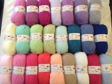 WENDY PETER PAN BABY DOUBLE KNITTING WOOL 5X50G VARIOUS COLOURS NEW YARN KNIT