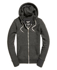 Superdry O L Luxe Edition Ziphood - Charcoal Jasp - XS,S,M - RRP £50