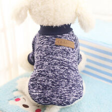 Lovely Small Medium Pet Dog Sweater Puppy Warm Knitted Jumper Winter Apparel