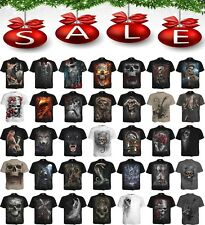 Spiral Direct NEW DESIGNS Skull/Dragon/Reaper/Rock/Metal/Xmas/Gift/T shirt/Top