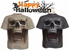 SPIRAL DIRECT DEATH RUGGITO T Shirt / Halloween /SKULL / Mietitore / Party /