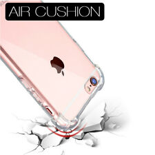 Shockproof 360° Silicone Protective Clear Case Cover For iPhone 8 7 6s 6 5 5s