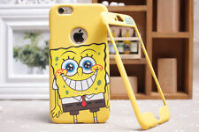 Spongebob Square Pants iPhone & Samsung S4 S5 S6 - Front & Back Plate Case Cover