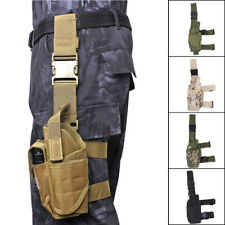 Adjustable Tactical Pistol Gun Revolver Drop Leg Thigh Holster Pouch Holder Army