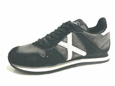 SCARPE UOMO MUNICH SNEAKER MASSANA BLACK DENIM & WHITE U16MU14