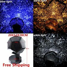 3 Colors Romantic Astro Star Sky Laser Projector Cosmos Night Light Lamp Gift SS