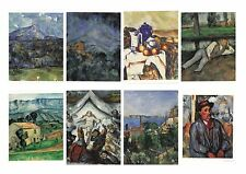 New Postcards by Artist Paul Cézanne (1839-1906) 11 paintings Great Quality