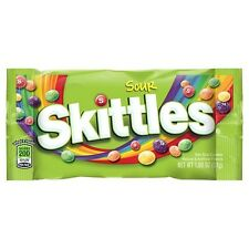 Original Skittles Sour  Chocolate American Candy Sweets Flavor USA Imported