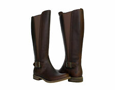 Timberland EK Savin Hill Tall Medium Shaft Brown Women's Riding Boots A124I