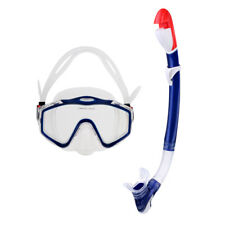 Unisex Adult Silicone Scuba Diving Swimming Snorkeling Mask y Snorkel Set