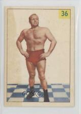 1955 1955-56 Parkhurst Wrestling #36 Don Evans Card